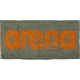 arena Gym Soft Towel army-tangerine